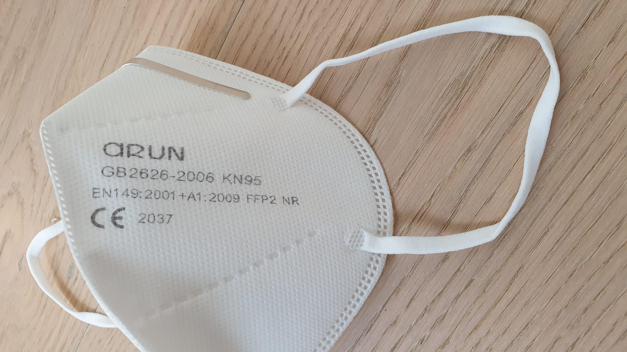 PARTIKEL MASKE KN95 FFP2 FDA | Virenschutzmaske